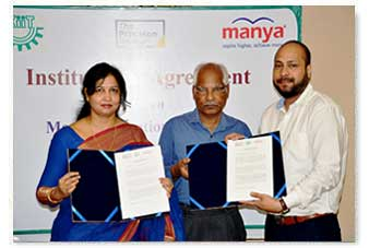 MoU with manya education pvt ltd