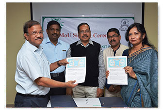 MoU with Central Tool Room & Training Centre (CTTC), Bhubaneswar. .