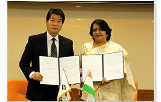 MoU with Dongwon Institute of Science and Technology (DIST)