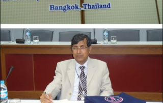 Prof. N. K. Chakrabarti, Director, KIIT Law School participated in the Asia-Pacific