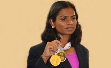 School of Law Student wins Gold at National Open Athletics Championships