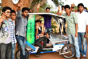 KIIT Students Design Solar Car
