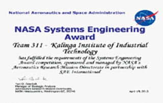 Team KIIT AERO participated in SAE Aero Design® West 2013