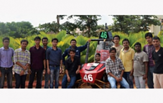 KIIT Team Clears BAJA Virtual 2013