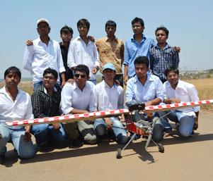 KIIT Students Develop Radio Control Air Craft