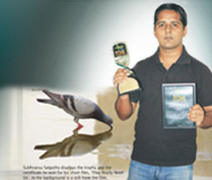 KIIT School of Film and Media Sciences Student wins Basudha Award for best film
