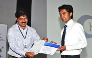 KIIT Student awarded Best Student Award by TCS