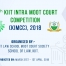 10TH KIIT INTRA MOOT COURT COMPETITION (KIMCC), 2018