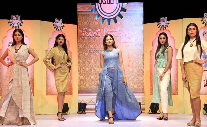 KIIT School of Fashion Technology.