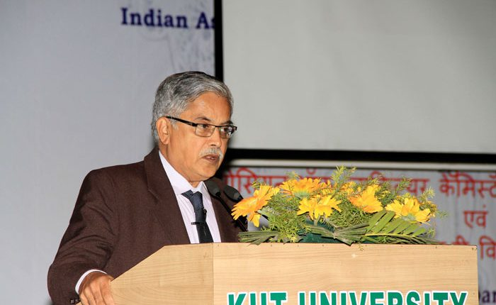 Prof. P.R. Vasudeva Rao, Former Director, Indira Gandhi Center for Atomic Research speaking on the occasion.