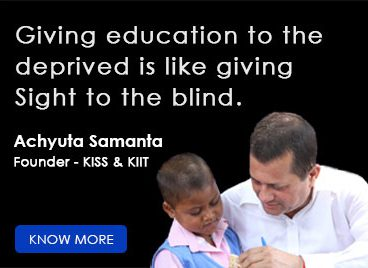 founder kiit kiss Achyuta Samanta