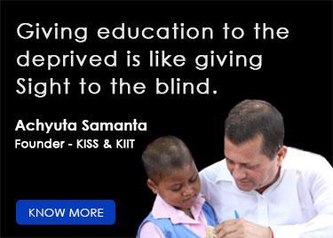 founder kiit kiss Achyuta Samanta