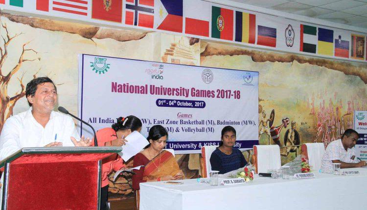East-Zone Inter-University Games at KIIT