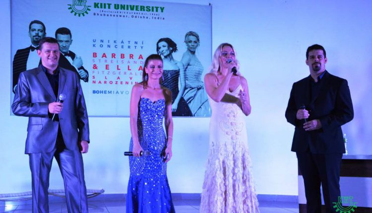 Bohemia Voice of Czech Republic performed at KIIT