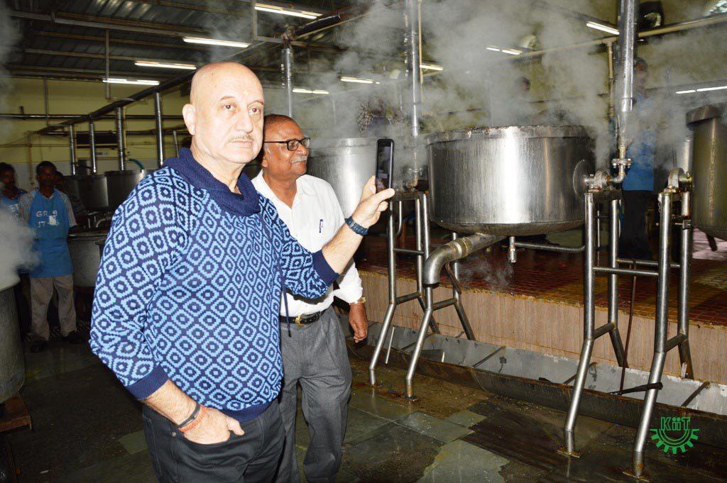 Anupam Kher Visited KIIT & KISS