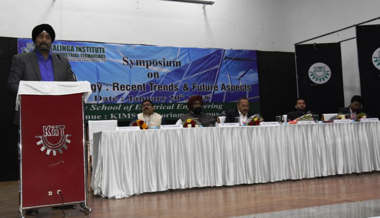 Symposium on Solar Energy at KIIT