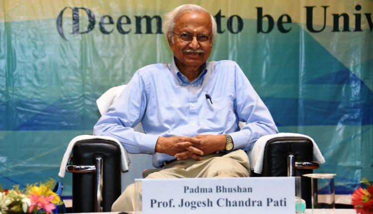 KIIT Knowledge Tree Talk by Prof. Jogesh Chandra Pati