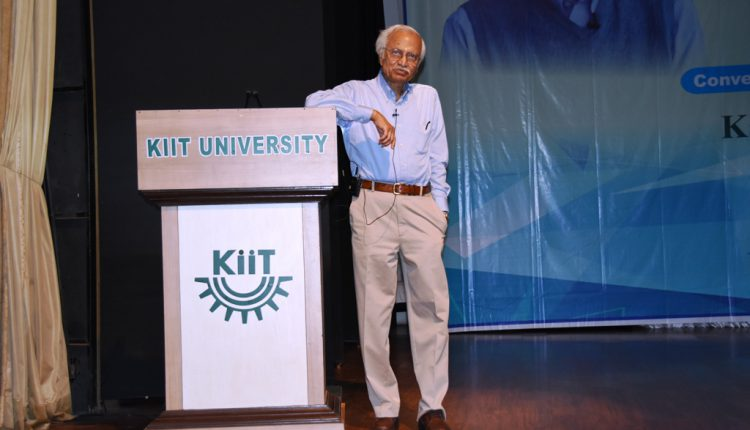 KIIT Knowledge Tree Talk by Prof. Jogesh Chandra Pati