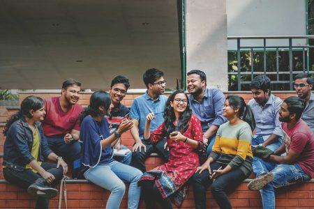 KIIT-Students-in-Campus