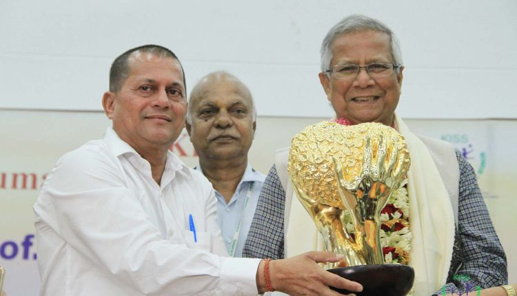 11th KISS Humanitarian Award for Prof. Muhammad Yunus