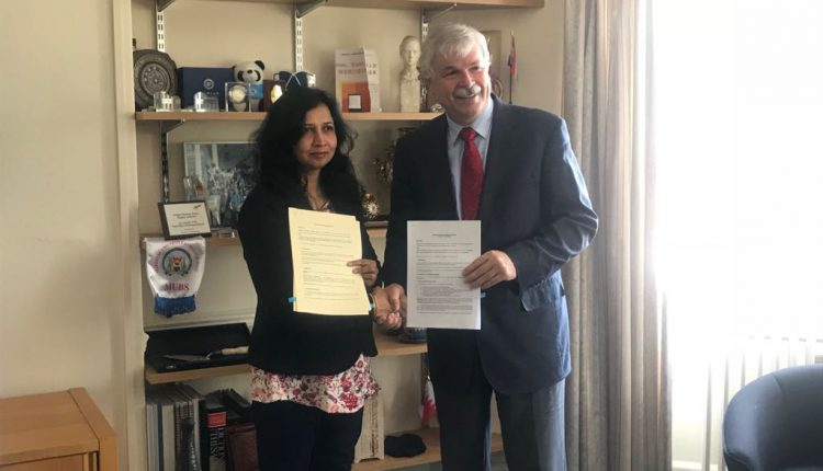 KIIT signed MoUs with Universities in UK