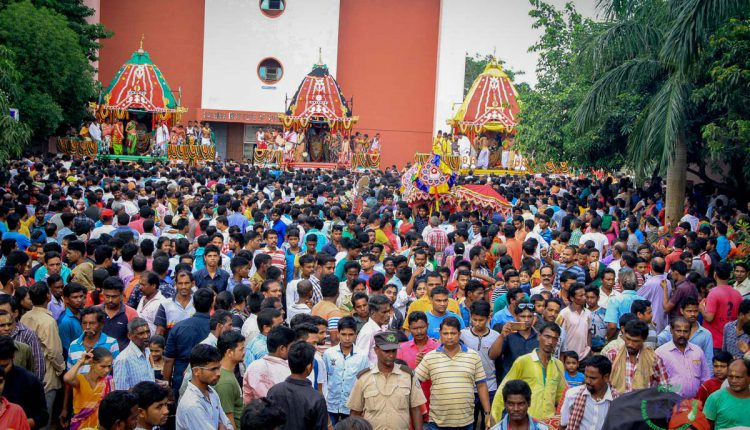 Rathyatra Celebration at Shrivani Kshetra at KIIT KISS