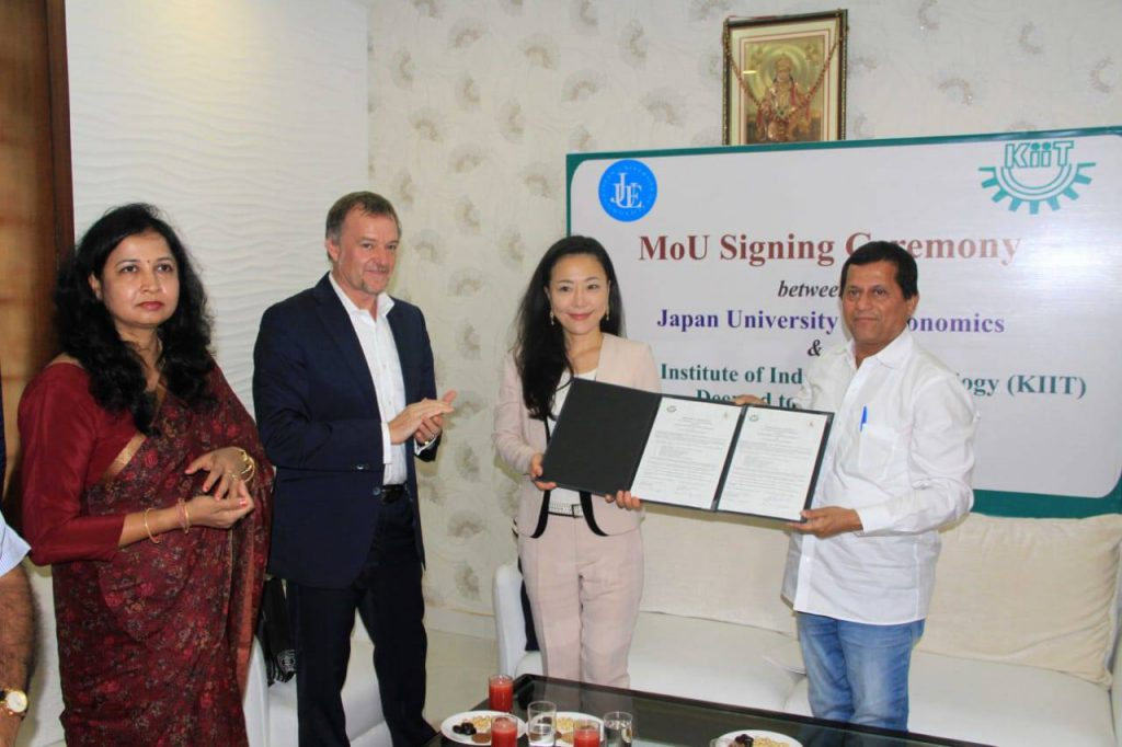 KIIT Signs MoU with Japan University of Economics