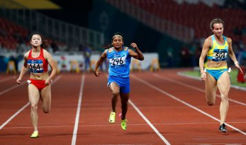 Dutee Chand from KIIT & KISS won Silver Medal in Asian Games running