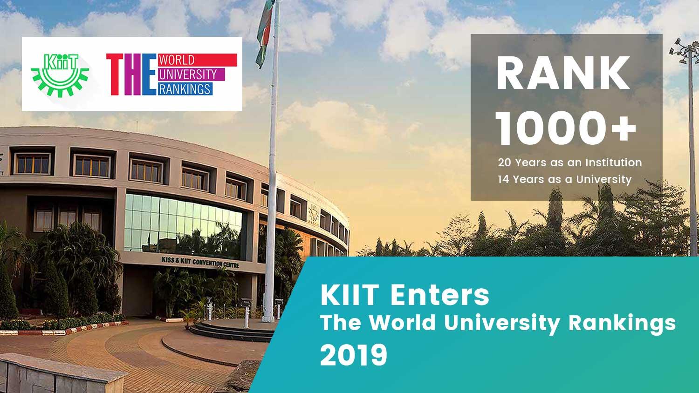 KIIT enters the Times Higher Education World University