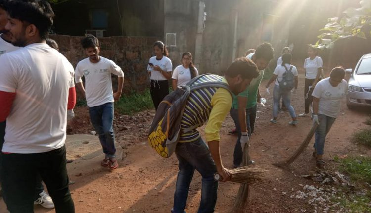 Swachhata hi Sewa by KIIT University on Gandhi Jayanti