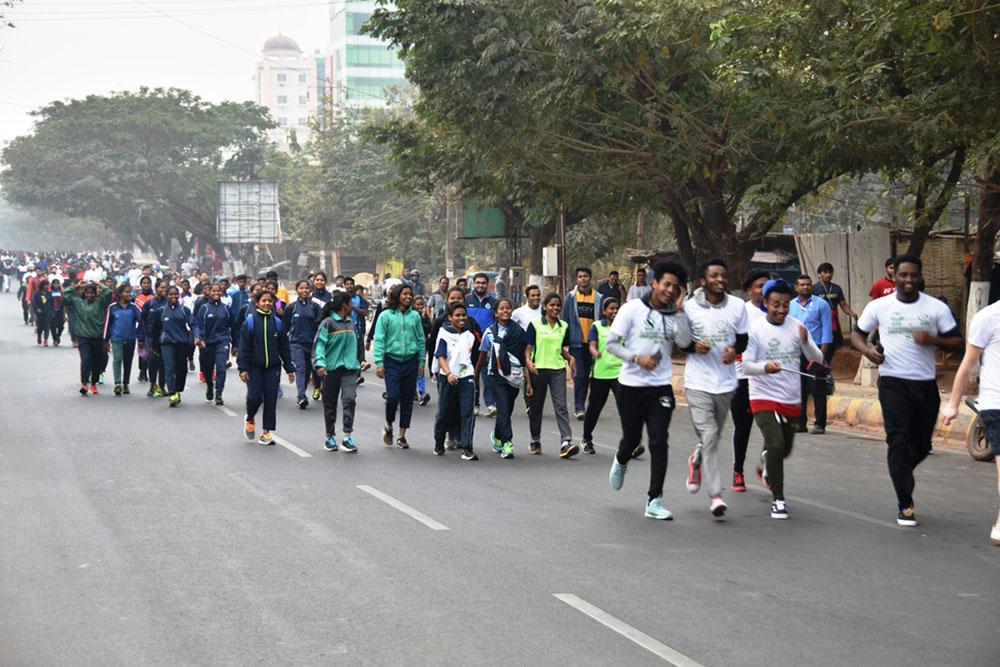 KIIT MINI Marathon