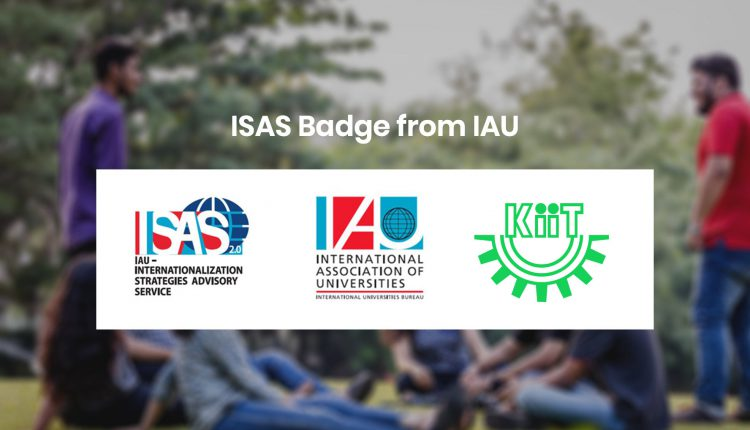 KIIT Gets ISAS Badge From IAU