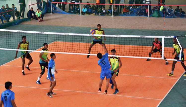 Senior National Volleyball Championship at KIIT