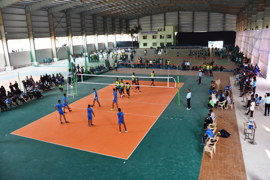 Senior National Volleyball Championship at KIIT