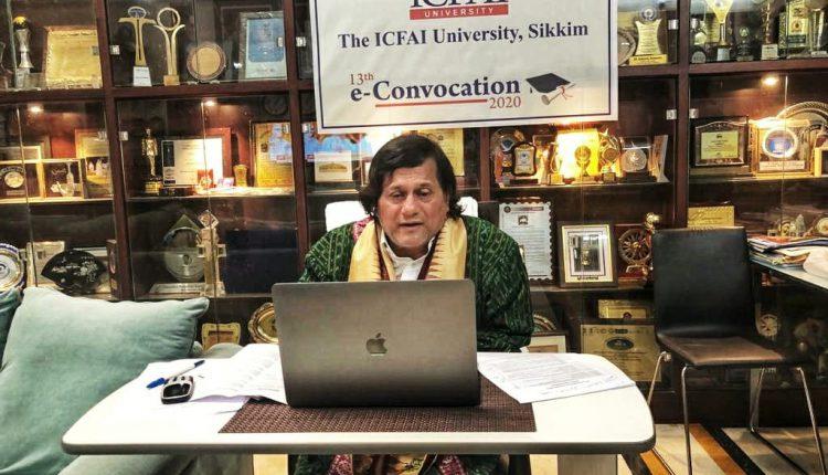 HonoraryDoctorateDegree by the ICFAI University Read More at https://news.kiit.ac.in/kiitnews/honorary-doctorate-to-achyuta-samanta/