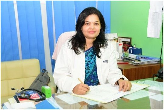 Dr Mousumi Acharya, Chief Consultant, Dept of CRM, KIMS