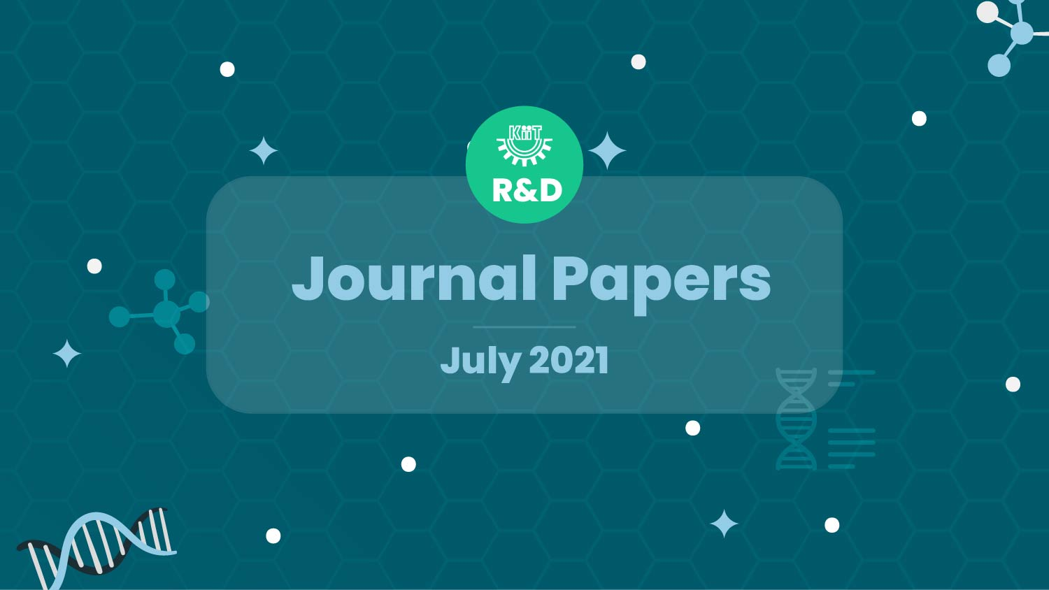 KIIT R&D Research and Development-Journal Papers