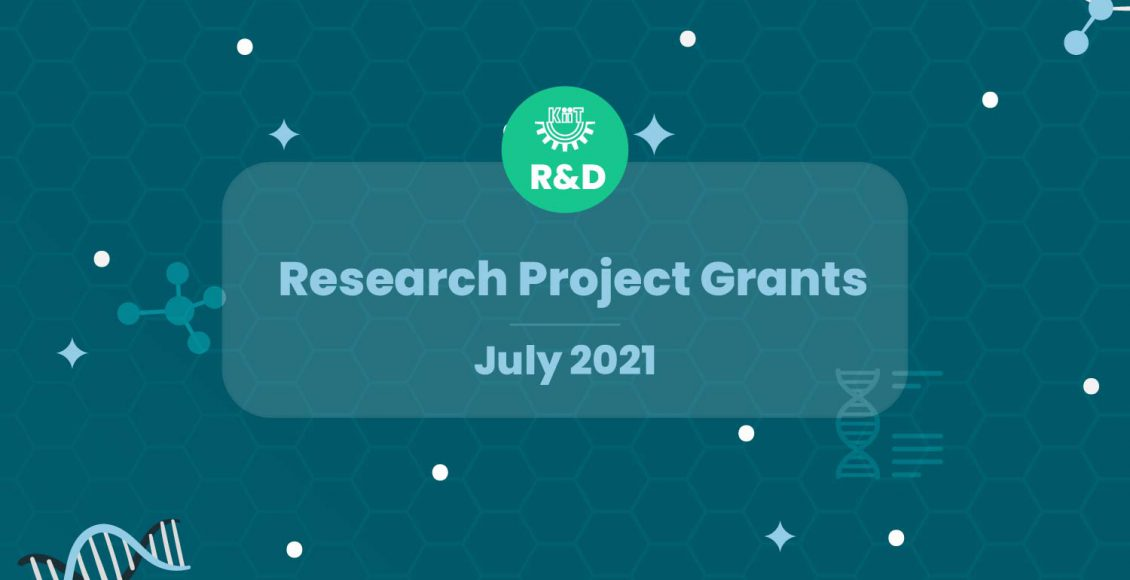 KIIT R&D Research and Development-Research Project Grants