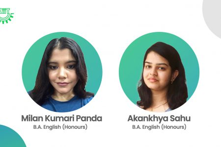 KIIT Students at National Level Students Webinar 2021 Milan Panda Akankhya Sahu