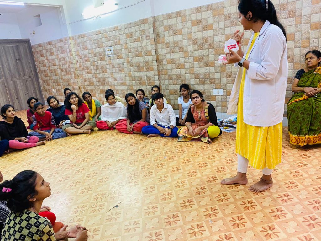 KIDS NSS Wing Observes Oral Hygiene Day