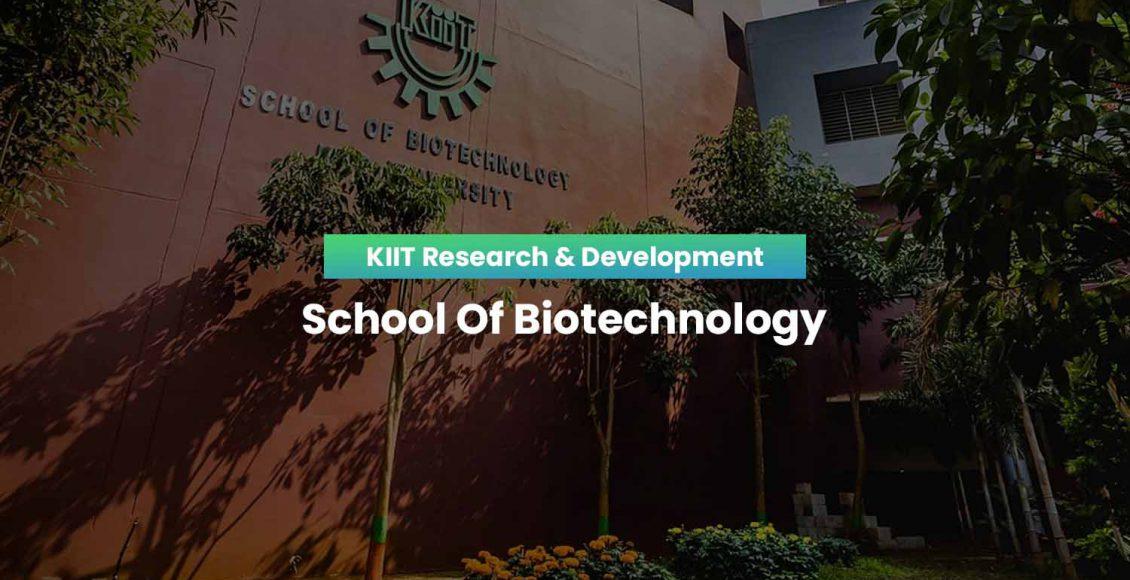 KIIT School Of Biotechnology