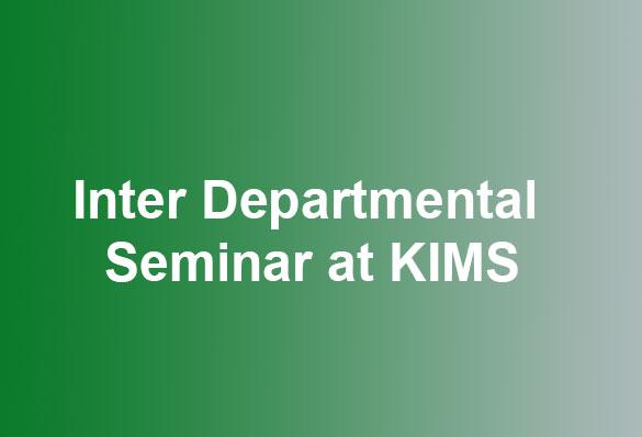 KIMS Seminar Post Covid